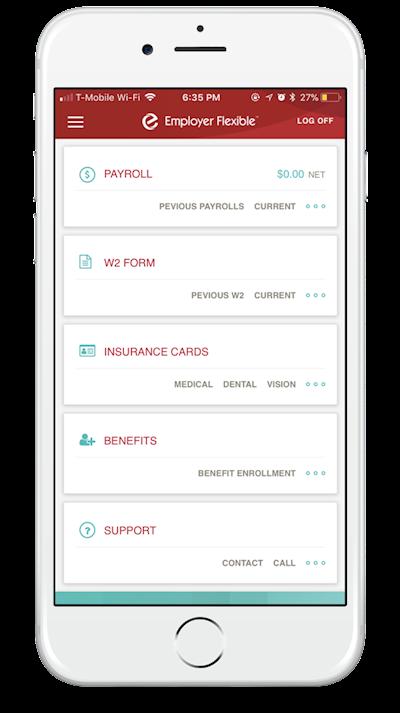 Employer Flexible - Mobile App : ContentActive