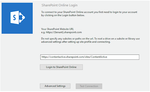 WebDrive to Sharepoint Online