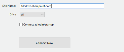 WebDrive to Sharepoint Online and Office 365